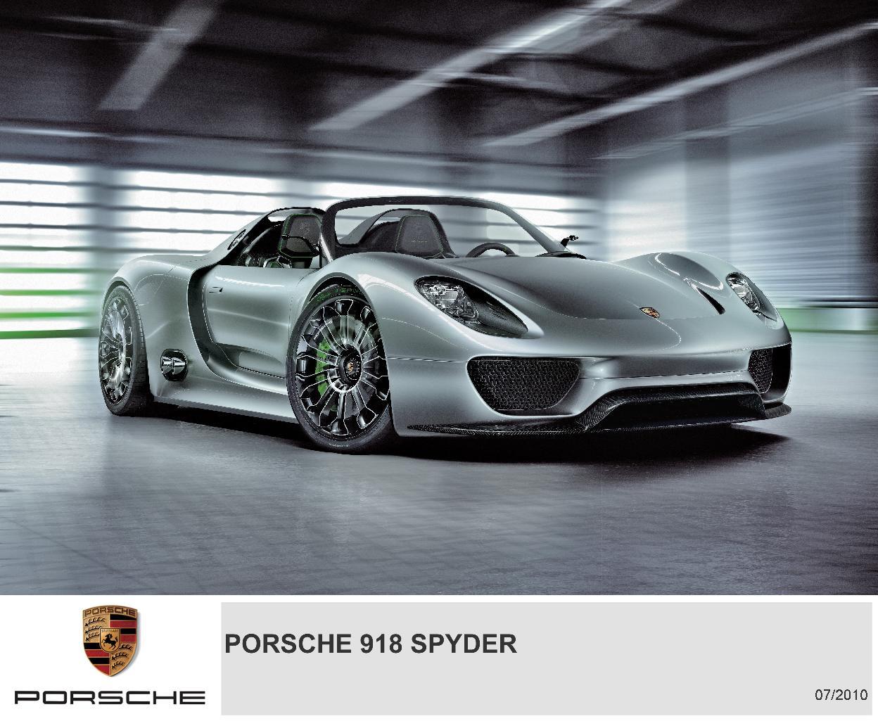 Porsche ...